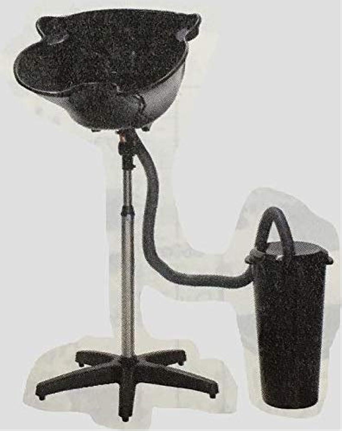 期間不合格情緒的簡易式シャンプー台 (排水バケツ付)