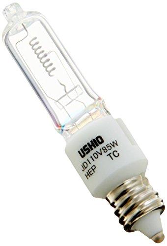 ミニハロゲン電球110V用(ミラーなし) 100W形 JD110V-85WHEP