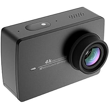 YI 4K アクションカメラ スポーツカメラ ウェアラブルカメラ 155°広角レンズ JP版 日本語対応 オリジナル正規品 黒