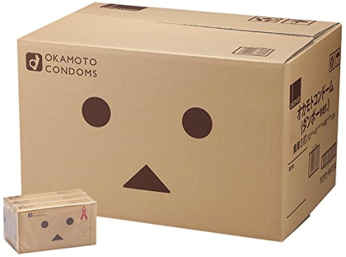 ラダ無声で物思いにふける【ケース販売】オカモトコンドーム ダンボーver. 12コ入×3パック×48個