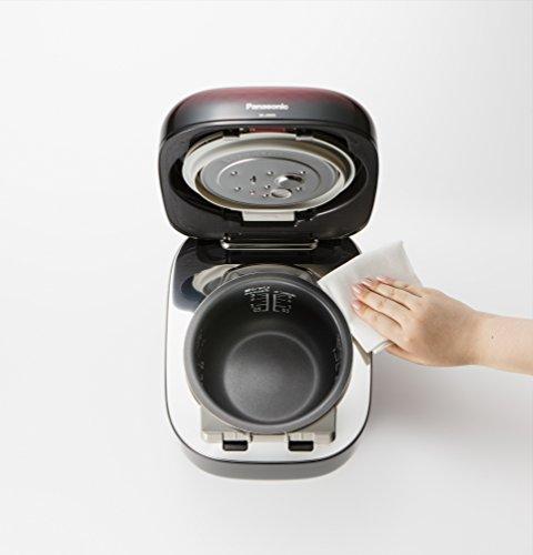 パナソニック3合炊飯器圧力IH式おどり炊き豊穣ブラックSR-JX055-K