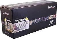 Lexmark c780h4kg–LEXMARK c780C782x782e高イールドブラックReturnプログラムトナーCA