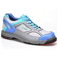 Dexter SST The 9ボーリングshoes- Womens Grey/Periwinkle/Aqua 9