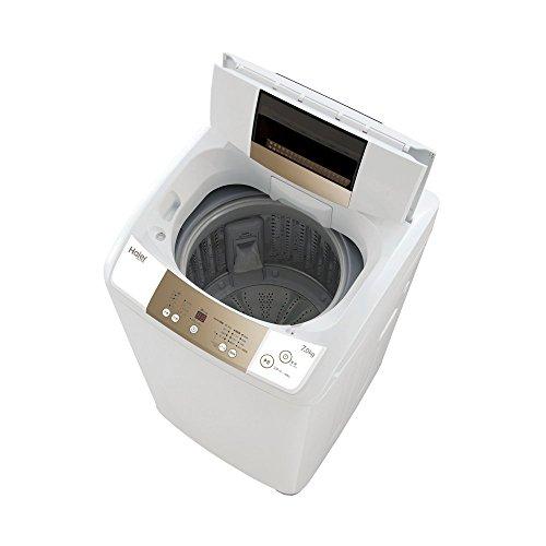 ハイアール 7.0kg 全自動洗濯機 ホワイトHaier JW-K70M(W)