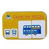 32pcs /箱鉄箱早期教育カード赤ちゃん啓発トレーニングおもちゃ 01