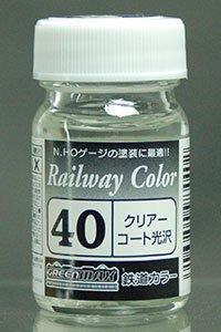 C-40 クリアーコート光沢 ビン入 鉄道カラー