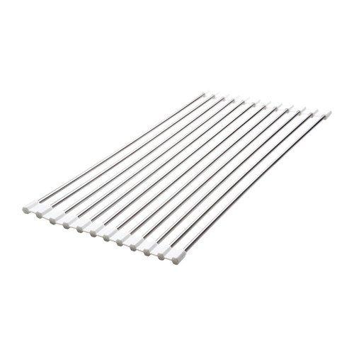 IKEA MADVIKEN 50286137 水切りラック折りたたみ式 ホワイトの ...