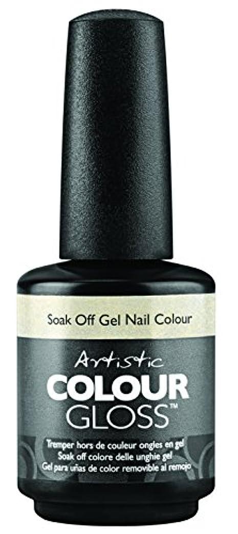 まあローブ油Artistic Colour Gloss - Mud, Sweat, & Tears Collection - Game Face - 15 mL / 0.5 oz