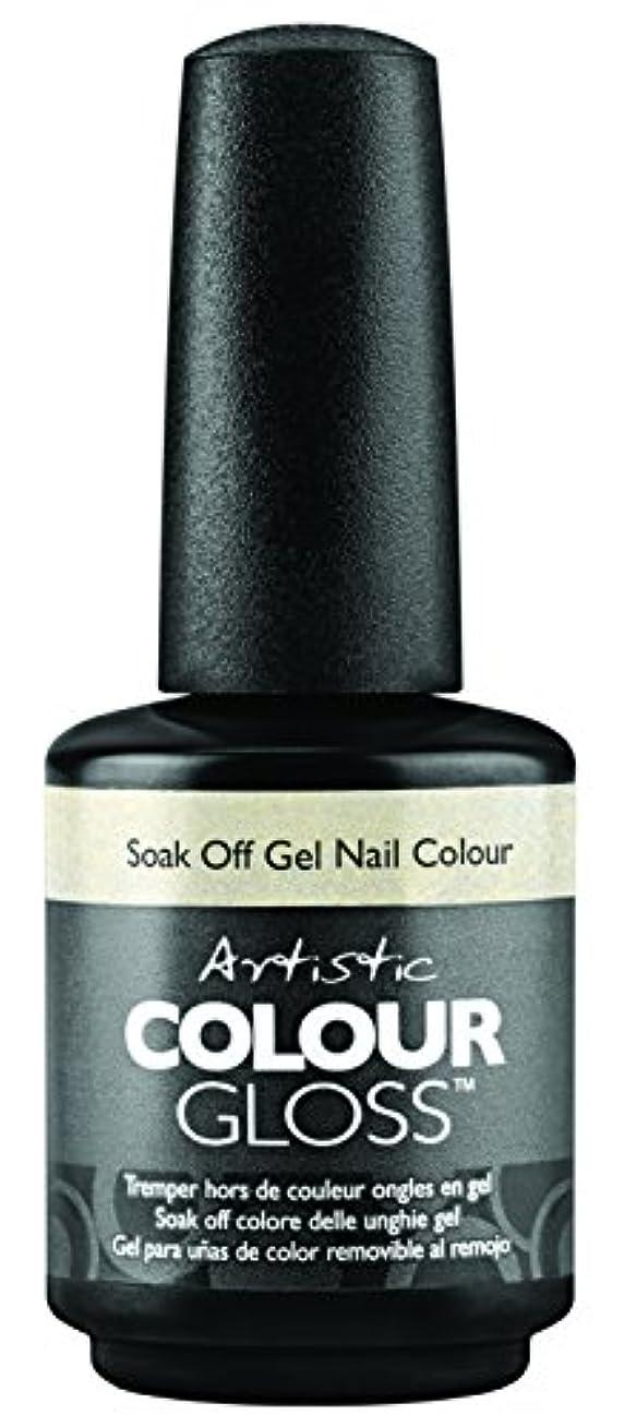 チャレンジネストキッチンArtistic Colour Gloss - Mud, Sweat, & Tears Collection - Game Face - 15 mL / 0.5 oz