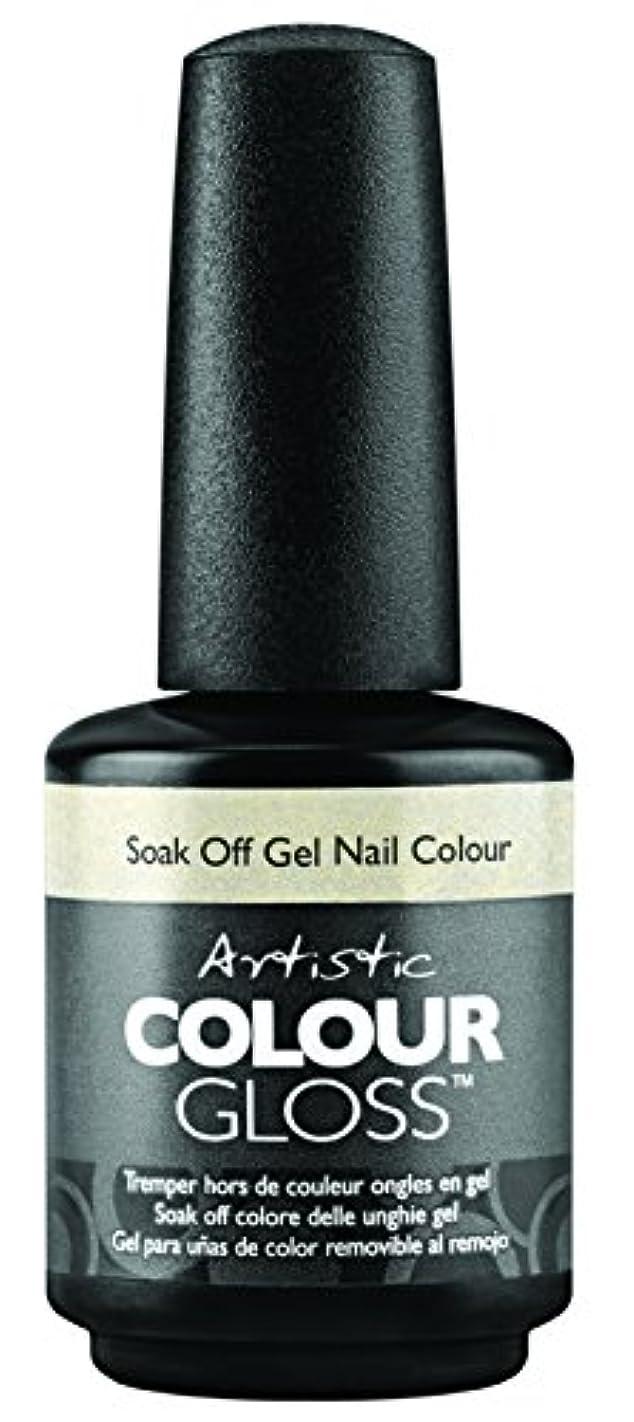 オペラボリューム退屈させるArtistic Colour Gloss - Mud, Sweat, & Tears Collection - Game Face - 15 mL / 0.5 oz