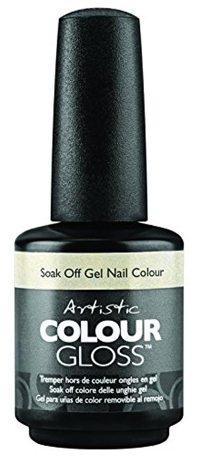 世辞の量ファイアルArtistic Colour Gloss - Mud, Sweat, & Tears Collection - Game Face - 15 mL / 0.5 oz