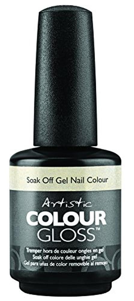 相反するやさしく感覚Artistic Colour Gloss - Mud, Sweat, & Tears Collection - Game Face - 15 mL / 0.5 oz