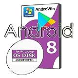 【期間限定おまけバージョン7】パソコンでAndroid8が使える様になりました/OS起動ディスク(国内発送品)【 対応】Google Play/Windows/Excel/通信料気にせずスマホアプリを楽しめます。22T8