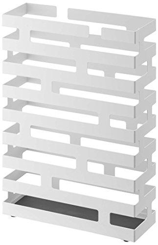 山崎実業 傘立て ブリック ワイド ホワイト 2360...
