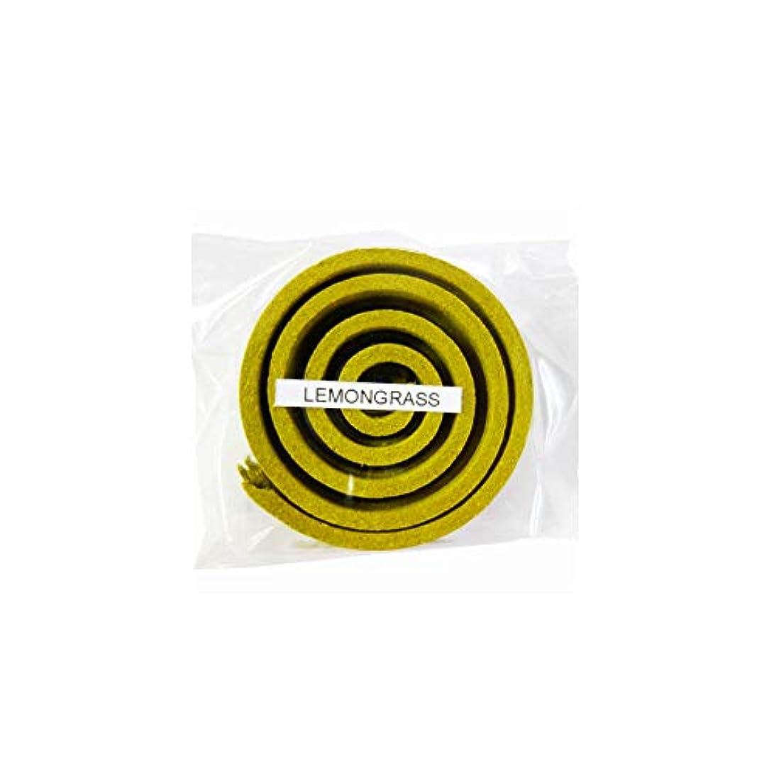 誰オフアクチュエータお香/うずまき香 LEMMNGRASS レモングラス 直径5cm×5巻セット [並行輸入品]