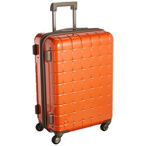 [プロテカ] ProtecA 日本製スーツケース 360(サンロクマル) 44L 02512 08 (マンダリンオレンジ)