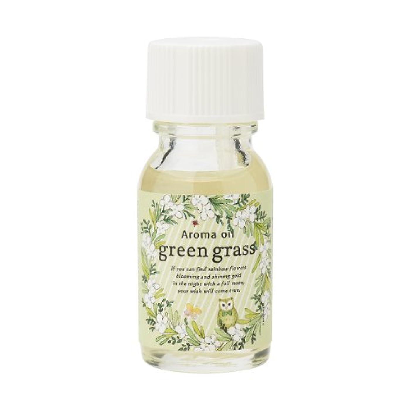印刷する混合したオズワルドサンハーブ アロマオイル グリーングラス 13ml(爽やかでちょっと大人の香り)