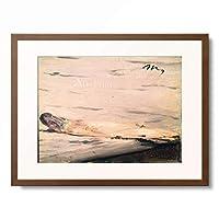 エドゥアール・マネ Edouard Manet 「L'asperge」 額装アート作品