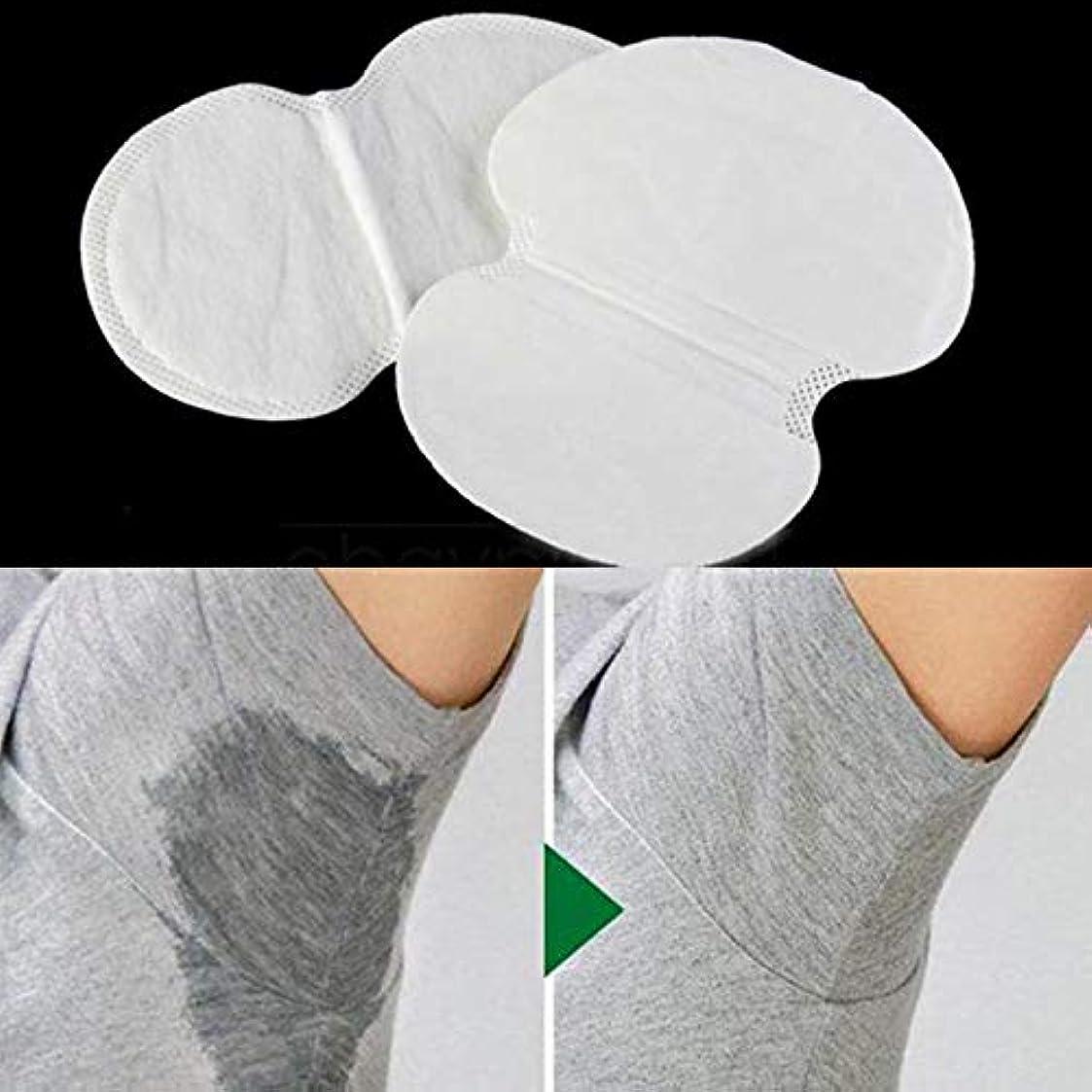 エクスタシー腹部舌な2ピース消臭コットンパッド脇の下汗パッド使い捨てストップ汗シールドガード吸収抗発汗汗女性のため