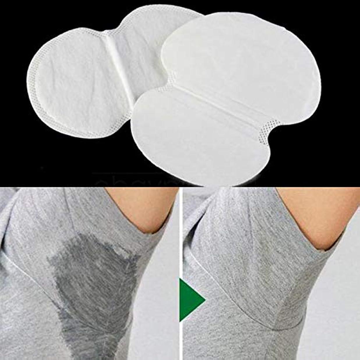 騒壮大中央値2ピース消臭コットンパッド脇の下汗パッド使い捨てストップ汗シールドガード吸収抗発汗汗女性のため