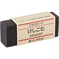 JAPAN MUJI Eraser BLACK MoMA Collection Small Size by Muji
