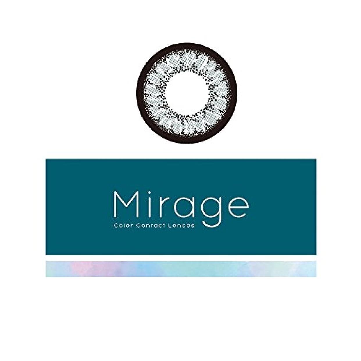 Mirage ミラージュ 1ヵ月交換カラコン 1枚入り 《デイジーグレー》 【BC】8.6 【DIA】14.5 (PWR, -0.50)