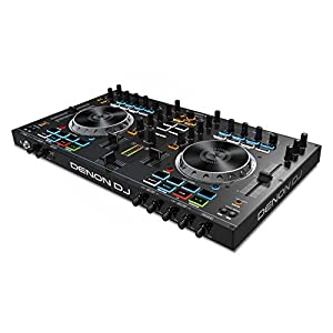 Denon DJ Serato DJ Intro付属 2デッキDJコントローラー MC4000