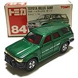 トミカ 84 トヨタ ハイラックス サーフ(緑)SCALE 1/65 赤箱