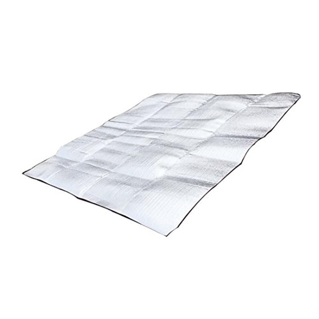 オゾン忠誠ラグ折り畳み式 寝具マット レスマットパッド 防水 アルミ 箔 EVA 屋外 キャンプ用マット