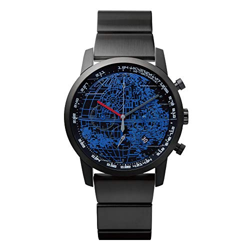 "ソニー ウェナ SONY wena 日本初スター・ウォーズ公式スマートウォッチ wena wrist pro Chronograph Premium Black set/STAR WARS limited edition ""THE DARK SIDE"" : WNW-SB14A/B"