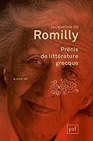 Précis de litterature grecque (3e édition)