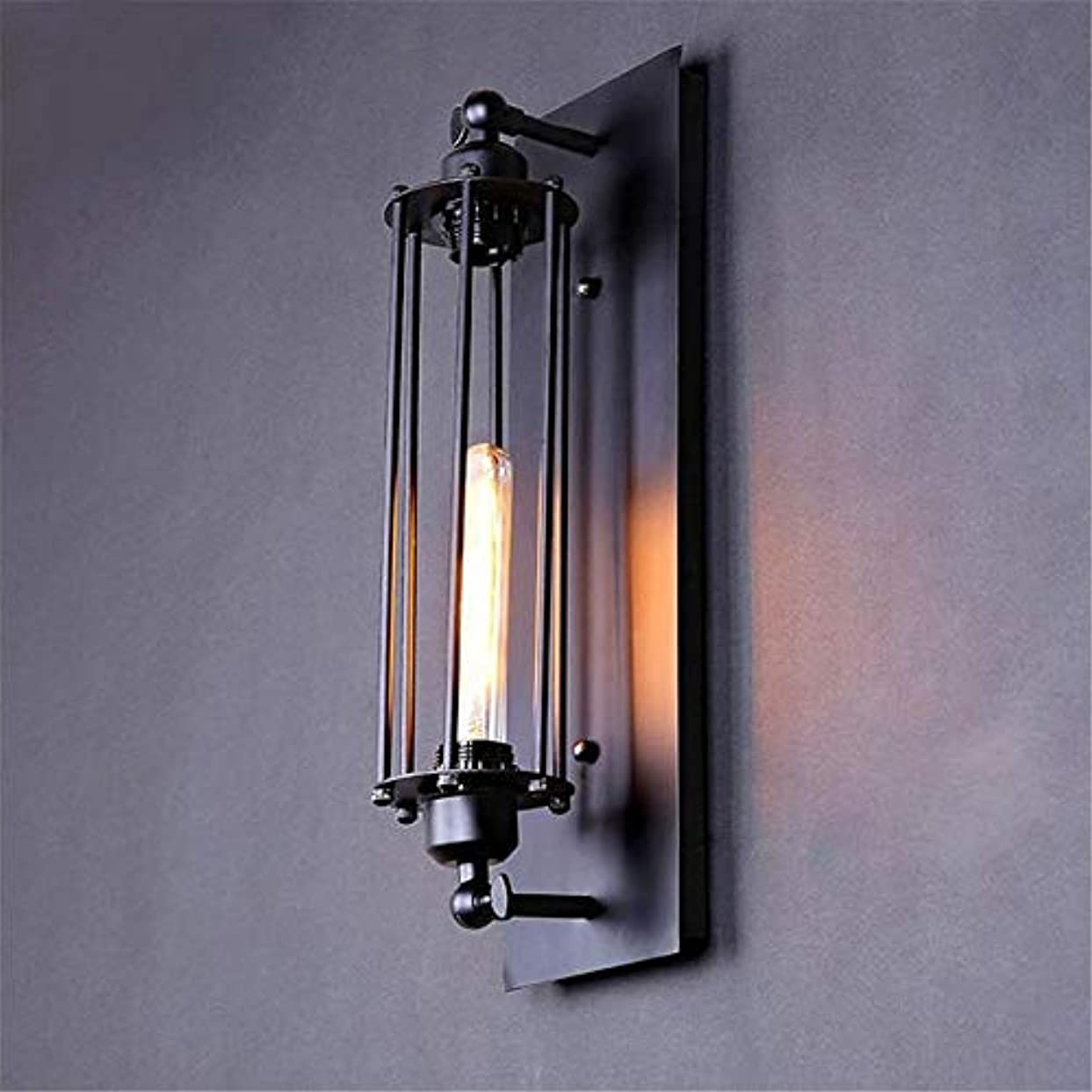 解説絡み合い慎重に壁面ライト, ロフトウォールランプウォールライトライトベッドサイドウォール備品燭台ランプホームデコレーションランプ AI LI WEI