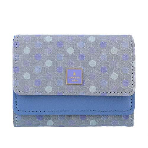 [ランバン オン ブルー] 三つ折り財布 レポワン レディース