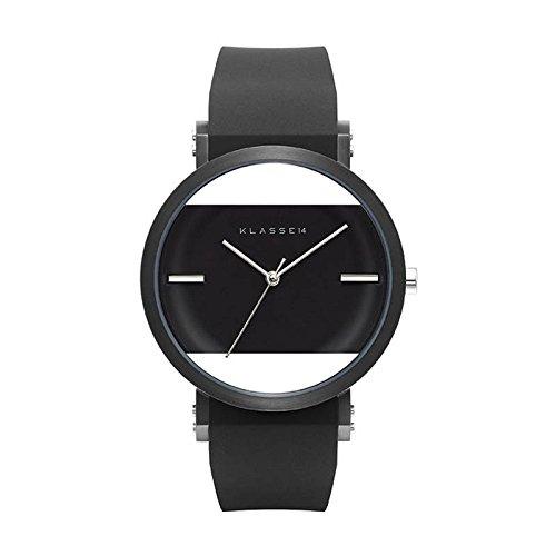[クラス14]KLASSE14 腕時計 JT(Jane Tang)×KLASSE14 imperfect square Black IM15BK002M(一部透過) 42mm【正規輸入品】