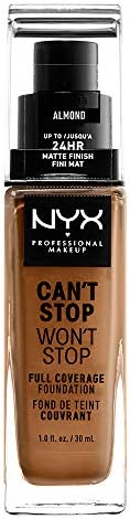 NYX Professional Makeup Can't Stop Won't Stop Full Coverage Liquid Foundation - 15.