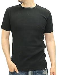(アビレックス)AVIREX ストレッチテレコ クルーネック Tシャツ メンズ 半袖
