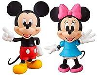 グッドスマイルカンパニー ねんどろいど 100 ミッキーマウス&232 ミニーマウス 計2点セット【MICKEY MOUSE】