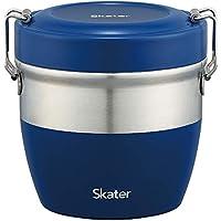 スケーター保温 丼ぶりステンレス弁当箱830ml STLBD8 ブルー