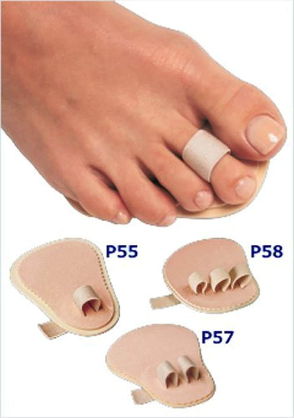 ホラーおかしいリスナー足指補整パッド 第2?3指用(P57)