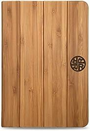 "Bamboo iPad 9.7 Case - for 2017 iPad 9.7"" - Natural, Durable Bamboo Wooden Eco-Friendly Design (Ba"