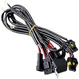 HID用 電圧安定供給 HIDパーツ 安定化リレーハーネス HB3/HB4用 1本/セット