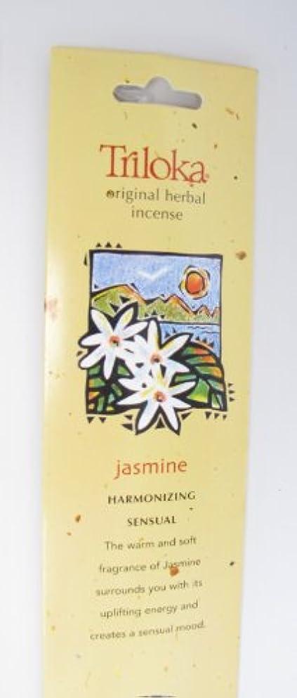 絡み合い使用法解決するTriloka - 元の草の香のジャスミン - 10棒