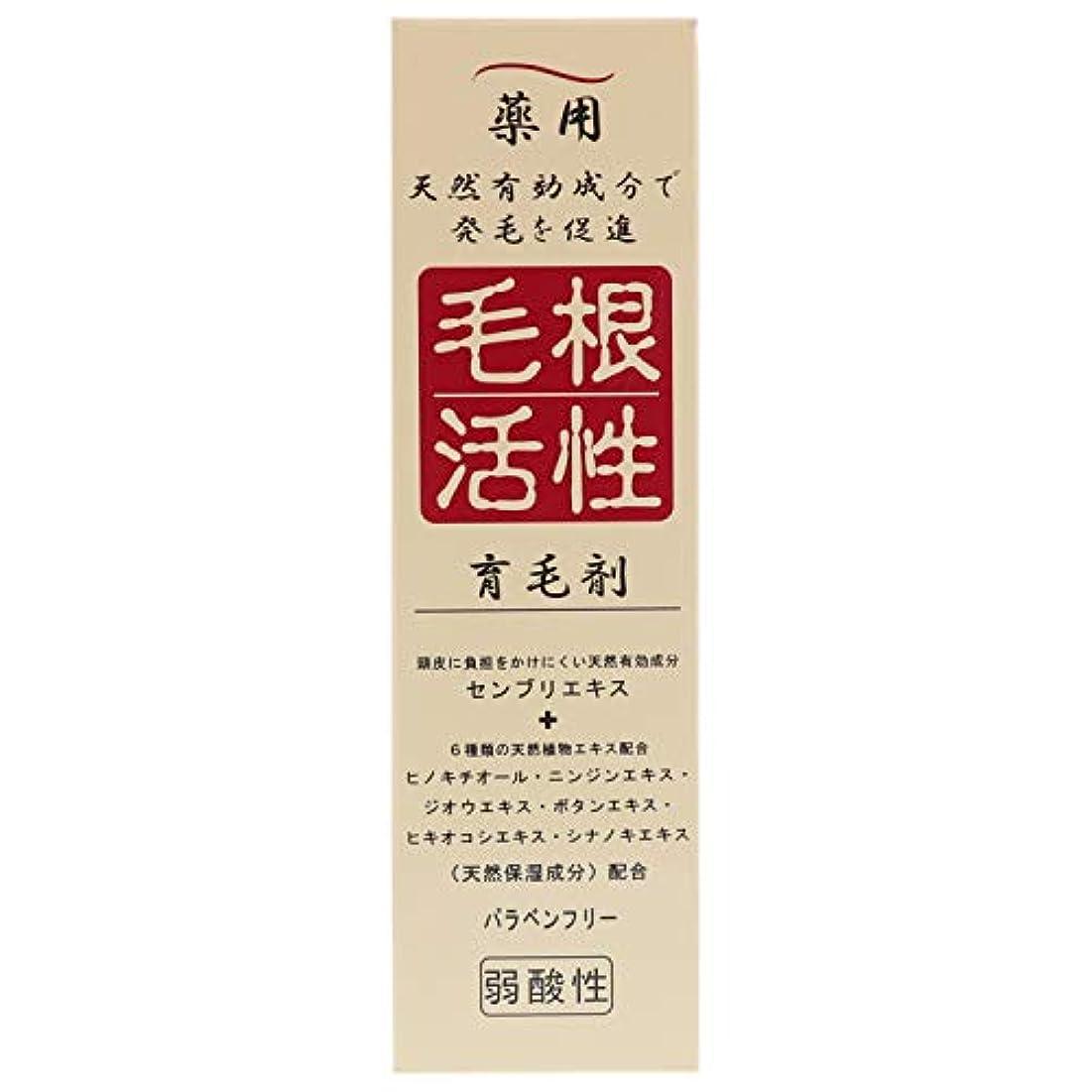 解くかかわらず巻き戻す薬用毛根活性育毛剤 150ml