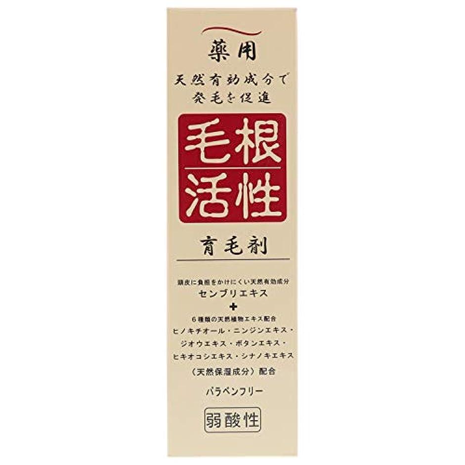 夜明け水没脱臼する薬用毛根活性育毛剤 150ml