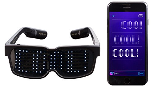 Chemion スマートグラス Smart LED Glasses CHM-...