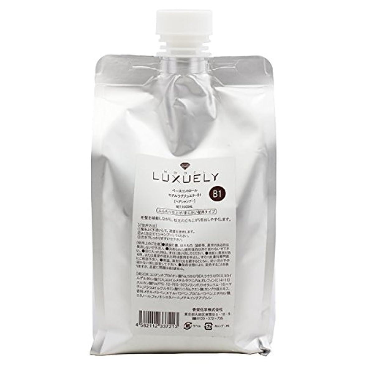 カフェ作り着陸香栄化学 モデル ラグジュエリー シャンプーB1 レフィル 1000ml