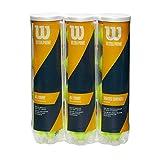 【プライムデー記念発売】Wilson(ウイルソン) テニスボール ウルトラ プライム 4ボール缶 3パック WRT119003