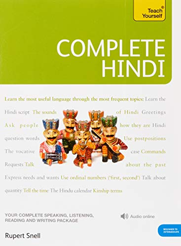Download Complete Hindi Beginner to Intermediate Course: Learn to read, write, speak and understand a new language (Teach Yourself) 144410683X