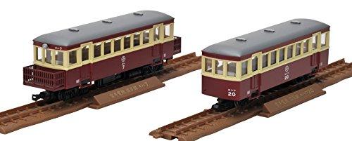 鉄道コレクション 鉄コレ ナローゲージ80 猫屋線 キハ7・ホハフ20形 旧塗装 ジオラマ用品 (メーカー初回受注限定生産)