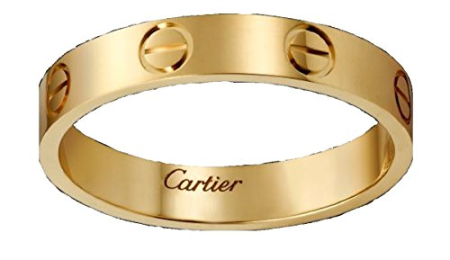 CARTIER カルティエ リング LOVE ウェディング リング 指輪 (12, イエローゴールド)